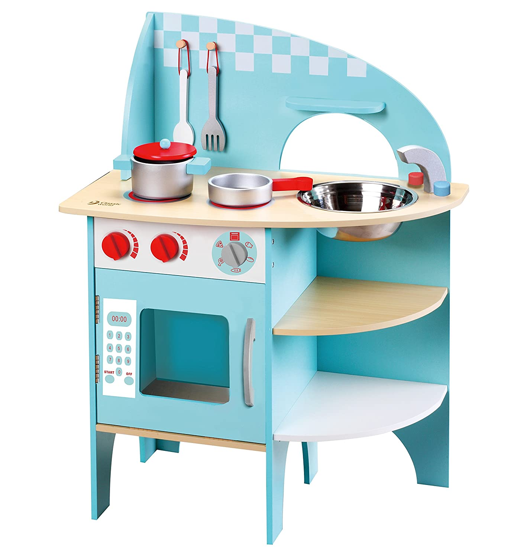 Amazon.com: Classic World Blue Kitchen Set: Toys & Games