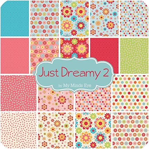 Riley Blake Just Dreamy 2 Fabric Quilting Patchwork