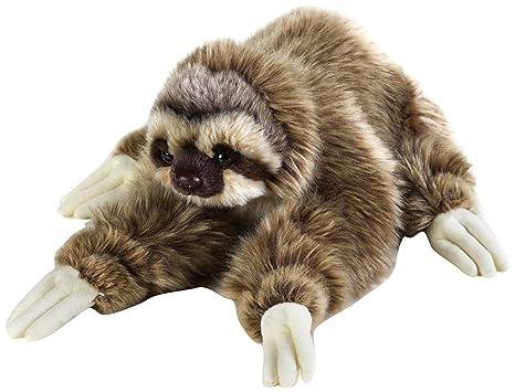 Amazon Com National Geographic Sloth Plush Medium Size Toys Games