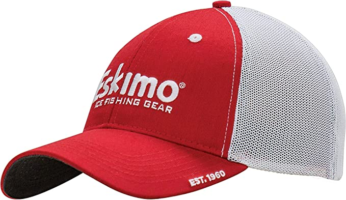 Eskimo Gorra elástica Unisex, Color Rojo/Blanco, Talla XL/XXG ...