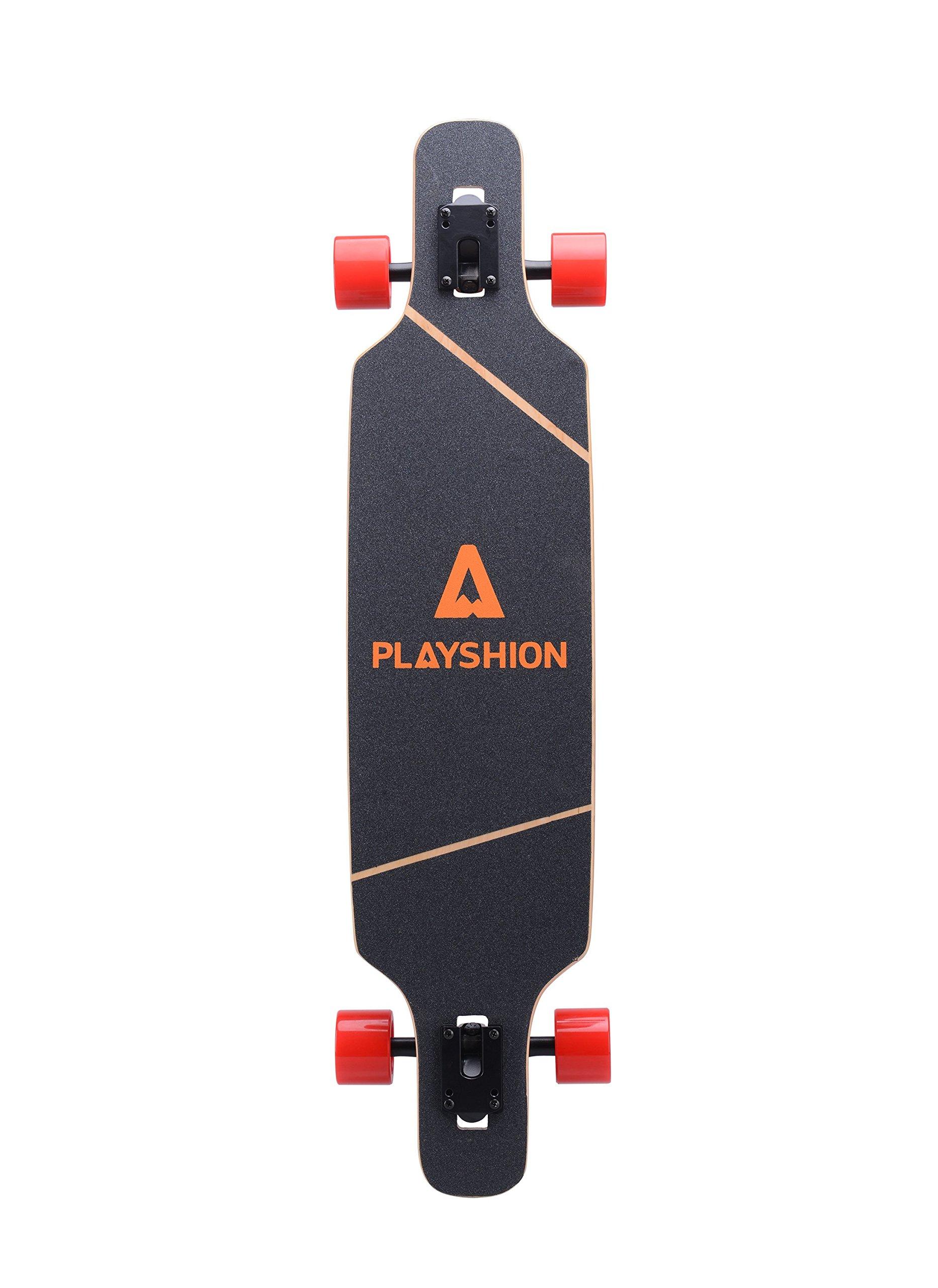 Playshion 39 Inch Drop Through Freestyle Longboard Skateboard Cruiser by Playshion (Image #2)