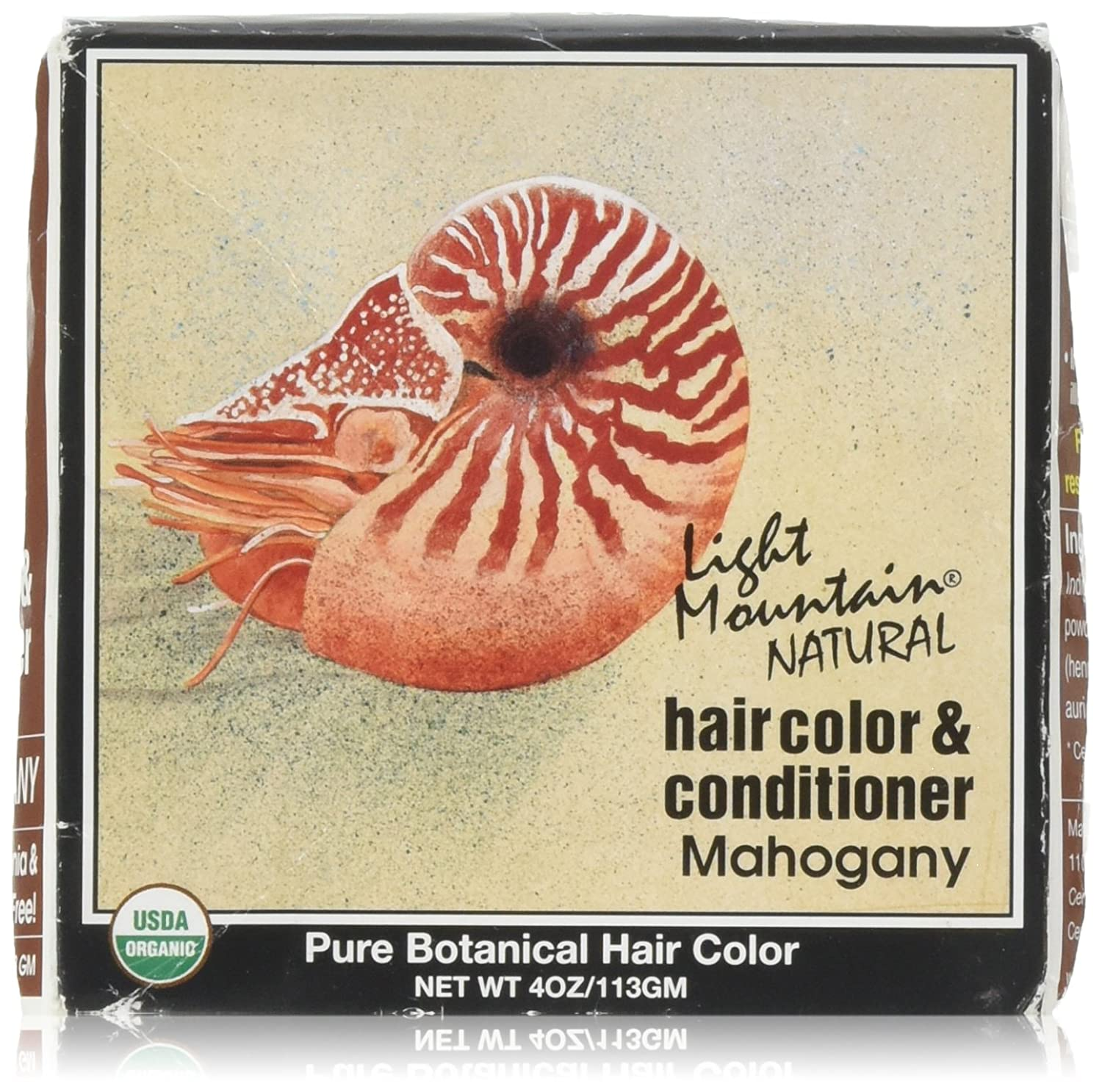 Henna Mahogany 4 Ounces Light Mountain 187120