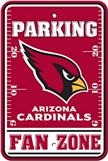 Fremont Die NFL Arizona Cardinals Plastique Parking Signs 92222