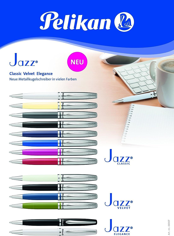 perlweiß Pelikan Metall-Kugelschreiber Farbe