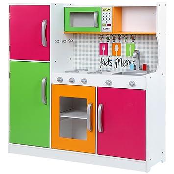 infantastic cucina gioco giocattolo bambini bimbi legno mdf ca 10210630 cm