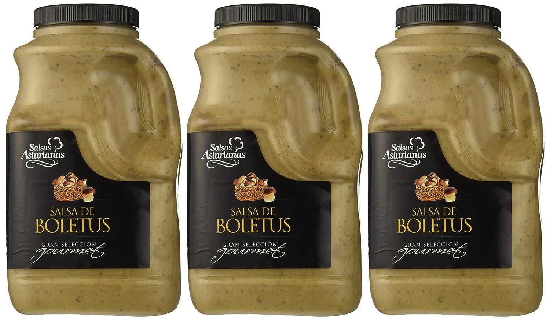 Salsas Asturianas Salsa Boletus - 1000 gr - [Pack de 3]: Amazon.es: Alimentación y bebidas