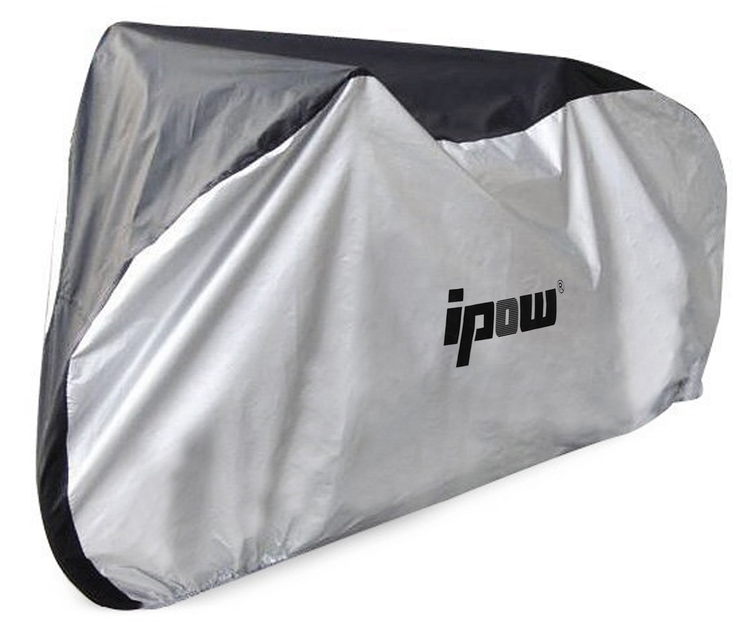IPOW 210D Thicken Oxford Fabric Waterproof Snowproof UV Protective Cycle Bike Bicycle Cover with Bag Best for Mountain Road Electric and Cruiser Bikes by IPOW (Image #1)
