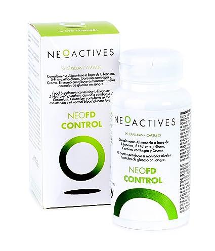 NeoFD Control. Con L-Teanina, 5-Hidroxitriptófano, Garcinia cambogia ...