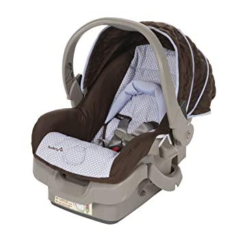 Amazon.com : Safety 1st Designer 22 Infant Car Seat, Nordica : Rear