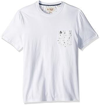 fae6158da507 Amazon.com: Original Penguin Men's Short Sleeve Seagulls Pocket Tee:  Clothing