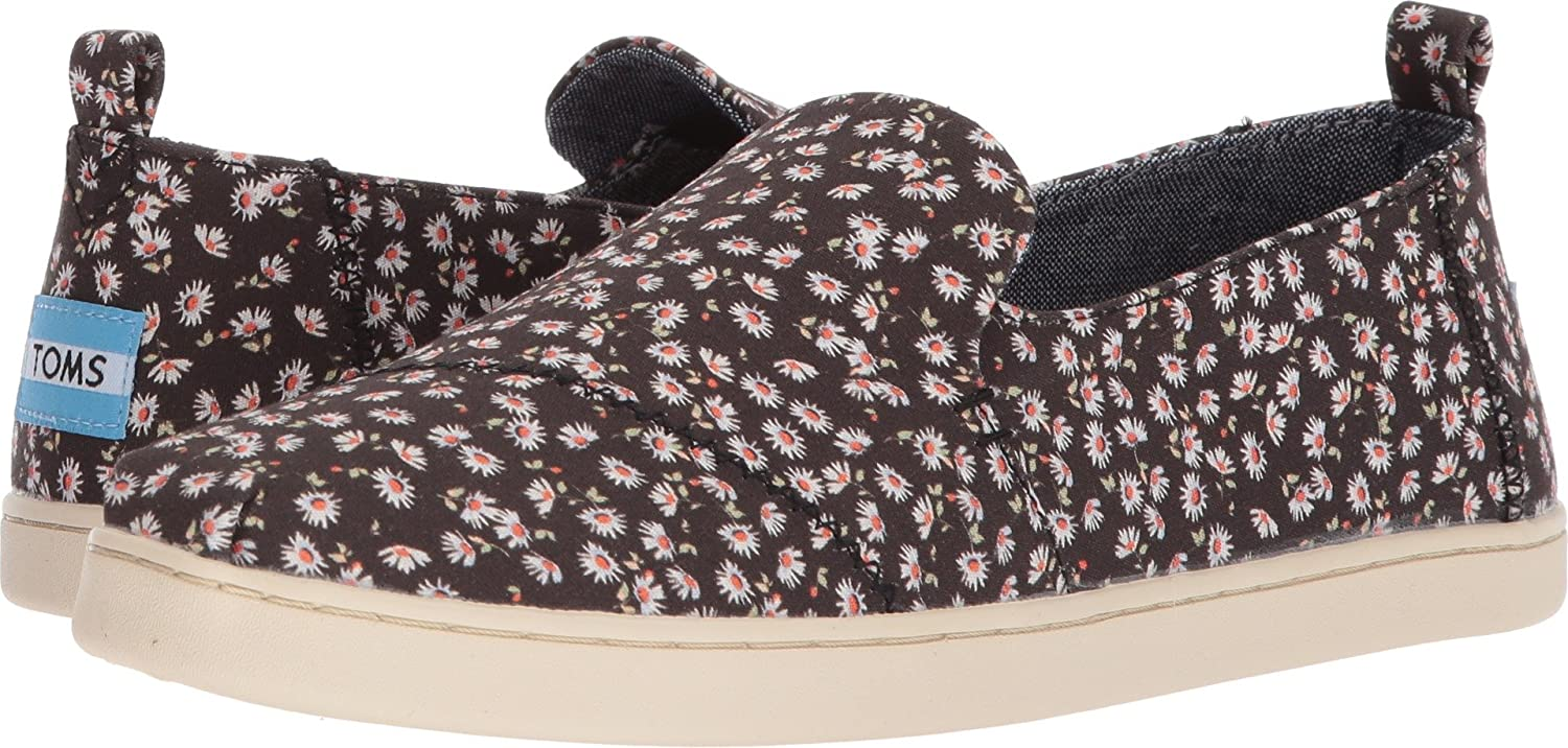 Toms Avlon Slip-On Black Coated Canvas, Schuhe, Flache Schuhe, Loafer, Schwarz, Female, 36