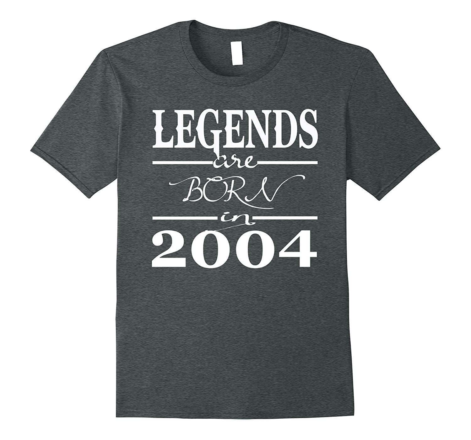 13 years old 13th Birthday Gift Legends Of 2004 T Shirt