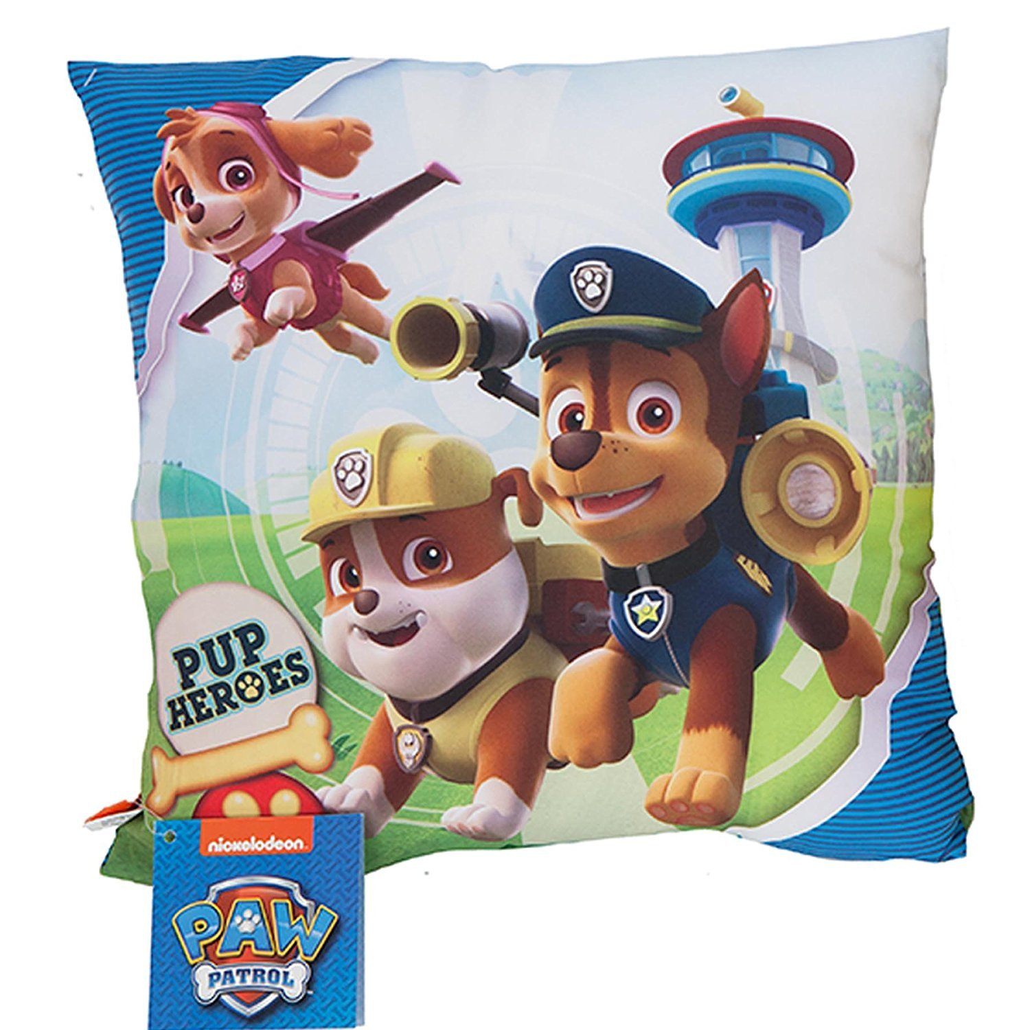 Paw Patrol Official Licensed Cushion Pillow - Blue Gosh