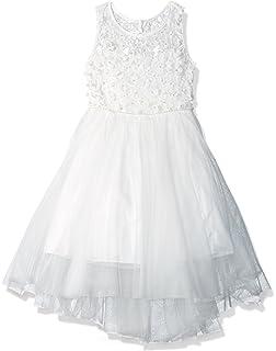 Amazon Com Biscotti Girls Feeling Fancy Drop Waist Dress Clothing