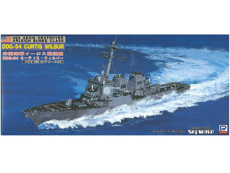 1/700 U.S. Navy Arei Burke-class Aegis destroyer DDG-54 Curtis Wilbur (M14) (japan import)