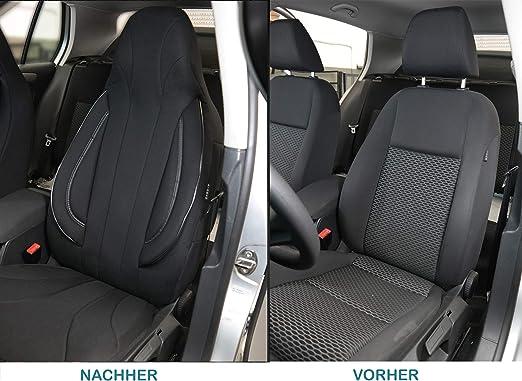 PL403. Fundas de asiento compatibles con Mazda 3 4.Gen N/úmero de color Skyactive conductor y copiloto a partir de 2019