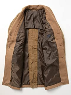 Insulated Loden Coat 11-19-0643-187: Coyote