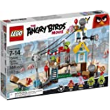 Lego 75824 - The Angry Birds Movie - La Démolition de Cochon Ville