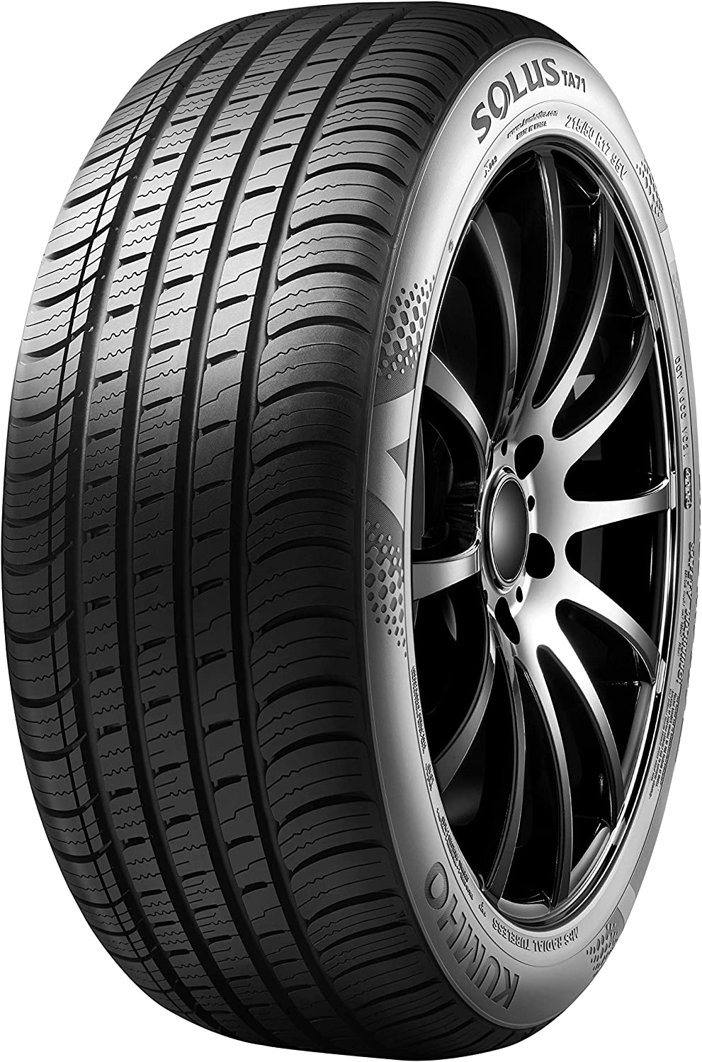 225//50ZR18 95W Kumho Solus TA71 All-Season Tire