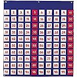 Learning Resources LER2208 Hundred Pocket Chart - Panel de Cien Bolsillos