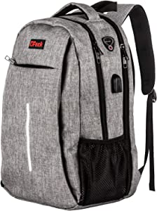 Travel Laptop Backpack,Business Anti Theft Slim RFID Blocking pocket Durable Laptops Backpack with USB Charging Port,Water Resistant College School Computer Bag for Women & Men Fits 15.6 Inch Laptop