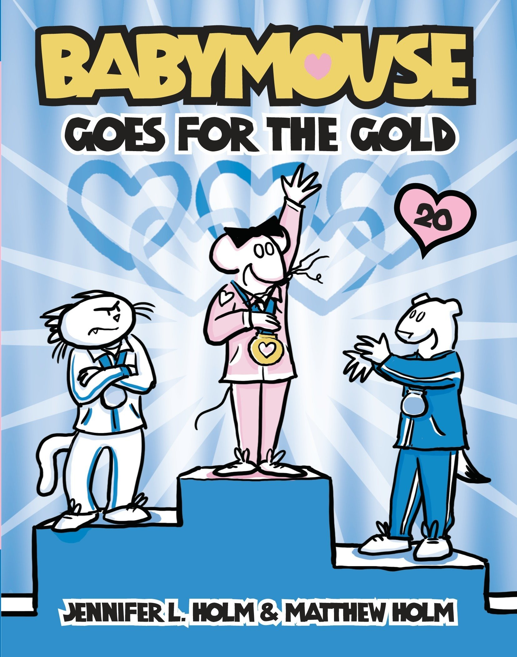 Babymouse #20: Babymouse Goes for the Gold PDF