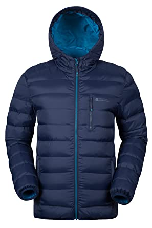 Mountain Warehouse Link Gepolsterte Herrenjacke mantel sportliche  steppjacke mantel Marineblau X-Small