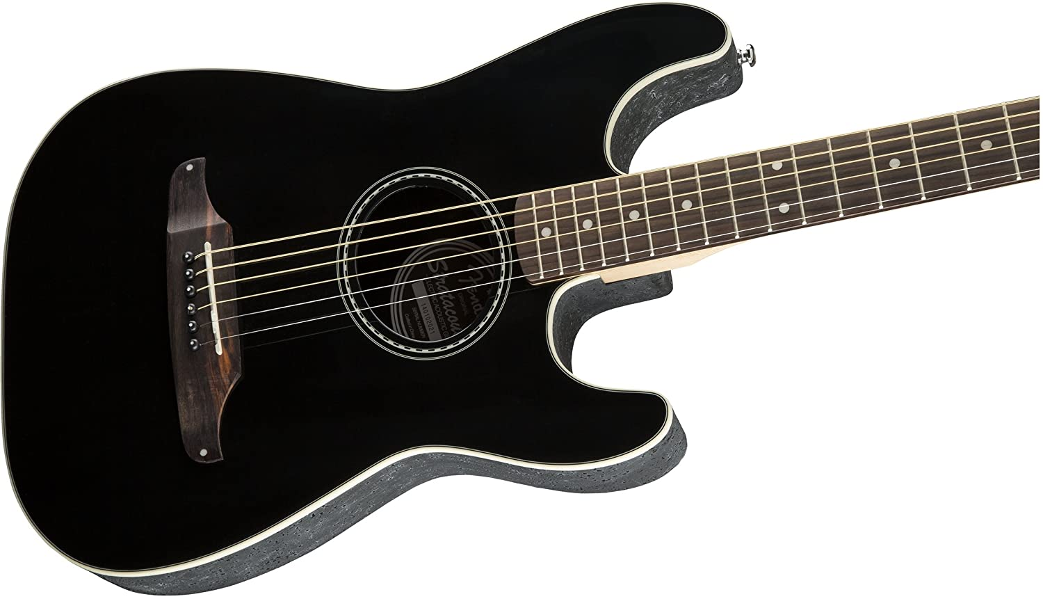Amazon Fender Standard Stratocoustic Acoustic Electric Guitar