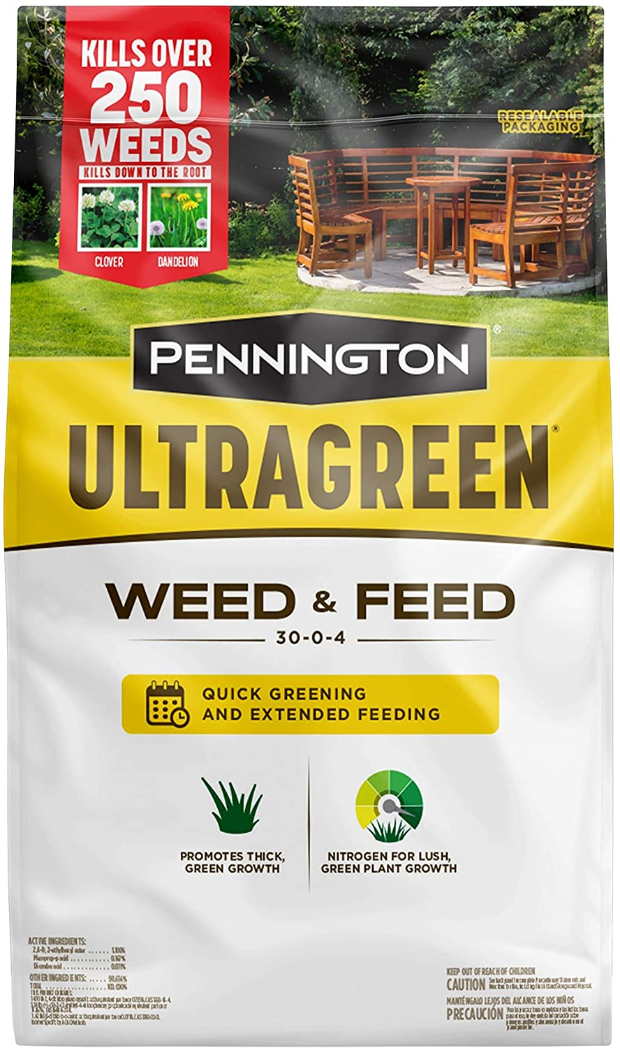 Pennington Ultragreen Southern Weed And Feed
