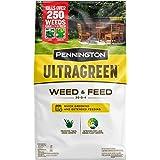 Pennington 100536600 UltraGreen Weed & Feed Lawn Fertilizer, 12.5 LBS, Covers 5000 Sq Ft