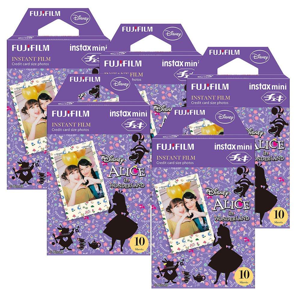 Fujifilm Instax Alice in Wonderland Instant Film 5pk For Mini 8 Cameras 50Sheets