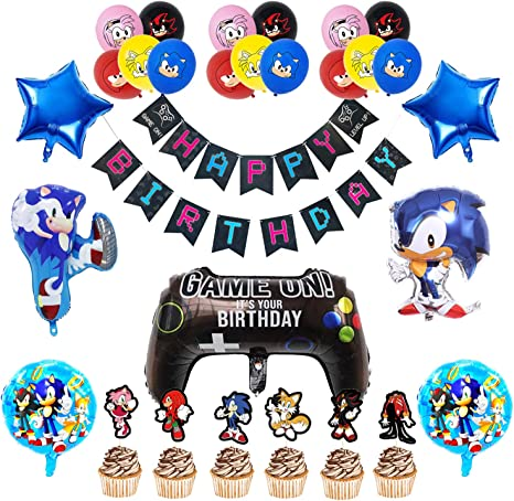 Molecole Sonic Hedgehog Birthday Decorations Sonic Hedgehog Party Balloons Supplier Sonic Latex Balloons Sonic Birthday Party Banner For Kids Baby Shower Birthday Party Suppliers Deakenyferalyn