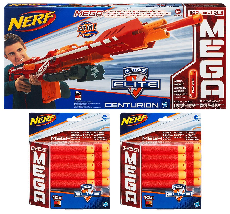 Nerf N-Strike Elite Mega Series Centurion Value Pack