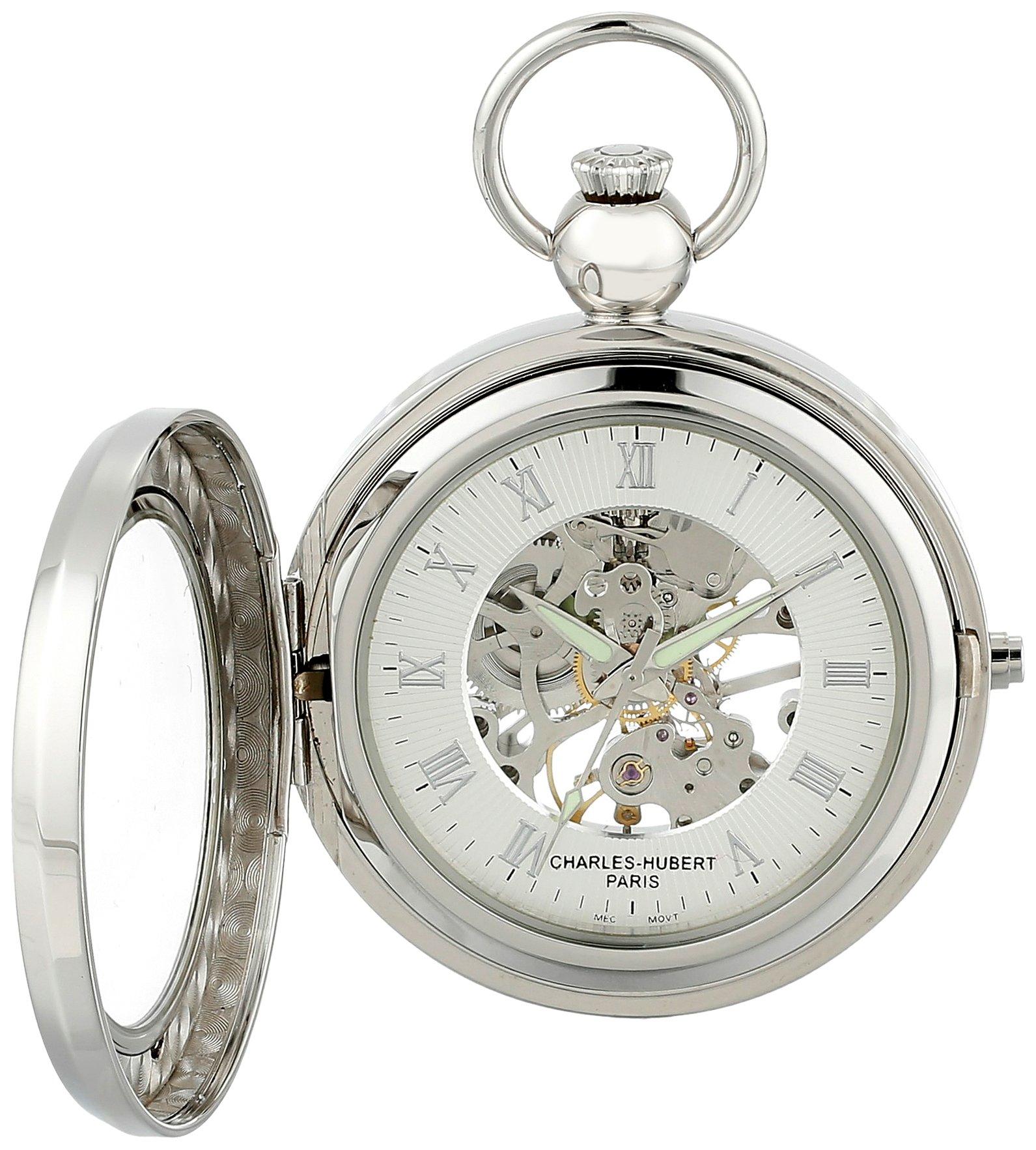 Charles Hubert 3849 Mechanical Picture Frame Pocket Watch by CHARLES-HUBERT PARIS (Image #1)