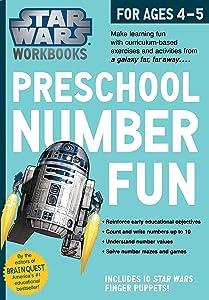 Star Wars Workbook: Preschool Number Fun (Star Wars Workbooks)