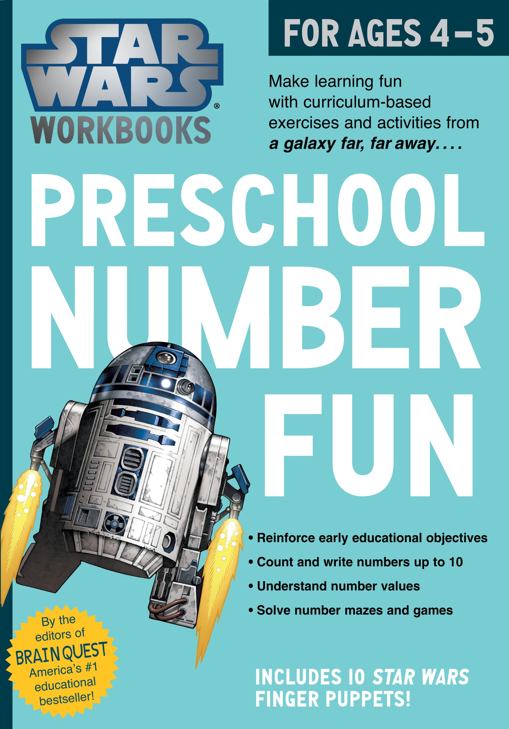 Star Wars Workbook: Preschool Number Fun (Star Wars Workbooks ...