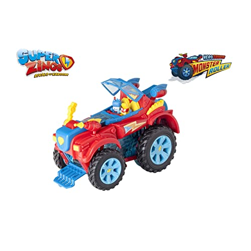 SuperZings PlaySet Heroe Truck Vehículos y figuras especiales Color rojo Magic Box PSZSP112IN20