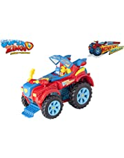 SuperZings- PlaySet Heroe Truck Vehículos y figuras especiales, Color rojo (Magic Box PSZSP112IN20)
