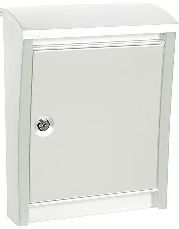 Arregui E5901 Buzón de Exterior de Acero Blanco 405 x 310 x 155 mm