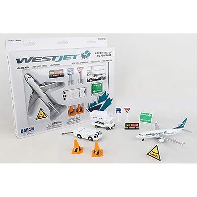 Daron Westjet Airport Playset: Toys & Games