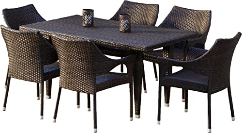 Christopher Knight Home Cliff Outdoor Dining Set