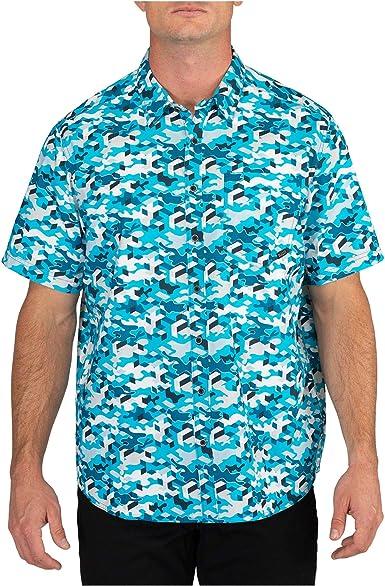 5.11 Tactical 71382 - Camisa de camuflaje con botones ...