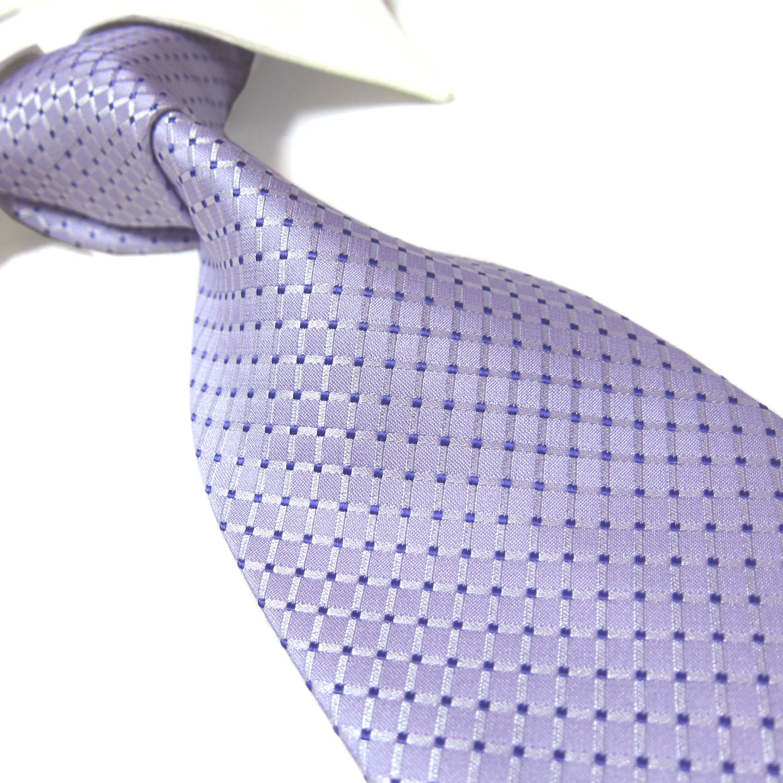 Towergem Extra long Mode Cravate Plaid pour homme tissé Jacquard faite à la main Cravate 160cm PL263vari