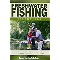 Freshwater Fishing Essentials: A Folding Pocket Guide to Gear, Techniques & Useful Tips