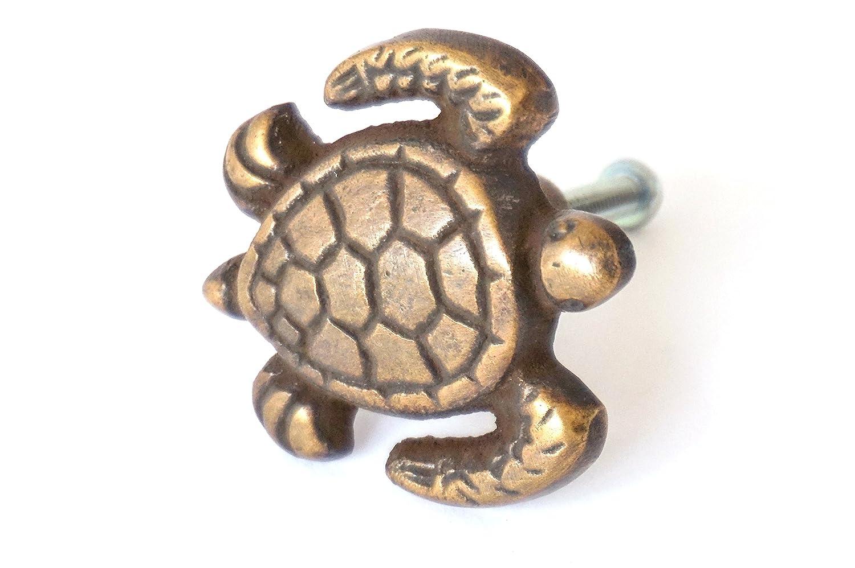 Nesha Sea Turtle Cabinet Pulls Knob Set of 2