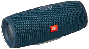 JBL Charge 4 Waterproof Portable Bluetooth Speaker with 20 Hour Battery - Blue