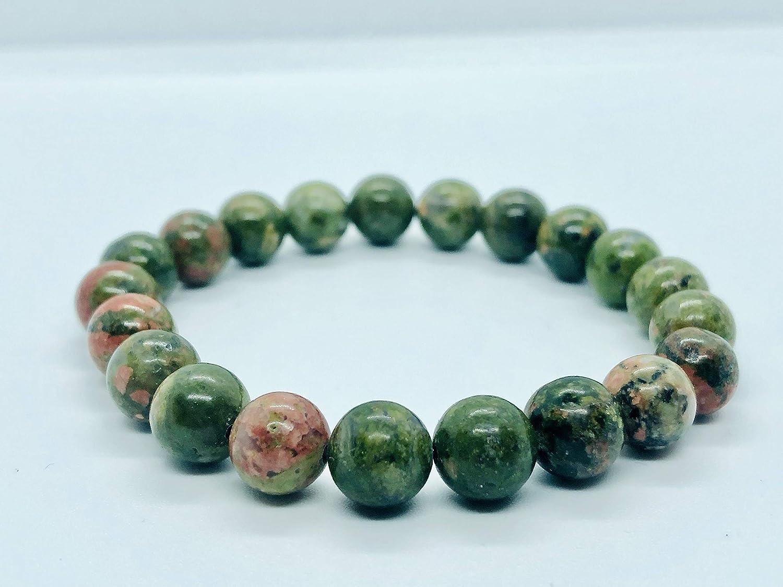 Unakite bracelet Jasper bracelet unakite jasper womens healthy bracelet emotional balance pregnancy beads unakite mala unakite for recovery