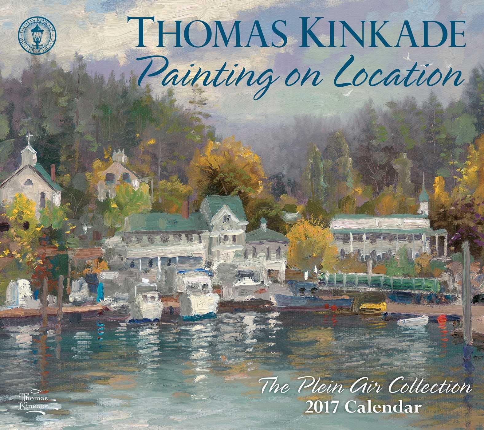 Thomas Kinkade Painting Location Calendar