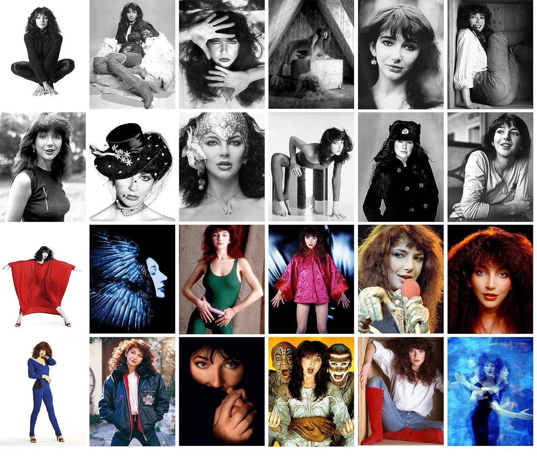 Postcard Set 24 Cards Kate Bush Pop Music Posters Photos Vintage Magazine Covers