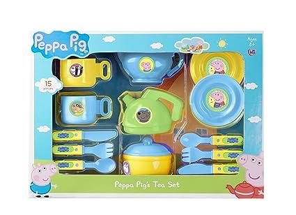 Peppa Pig Juego de té (Grande): Amazon.es: Juguetes y juegos
